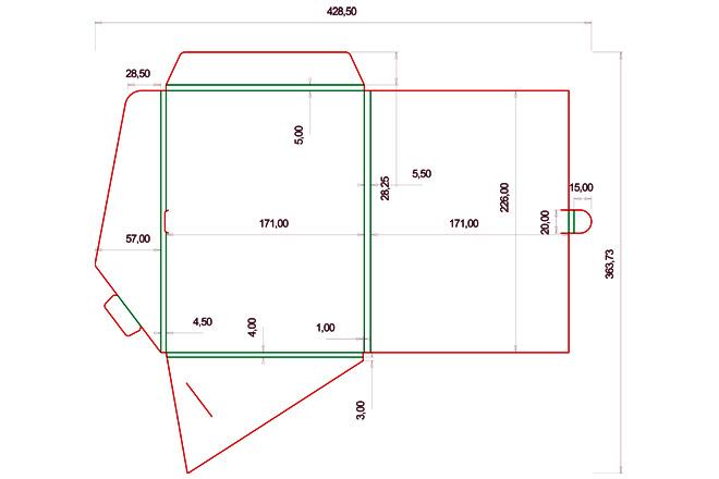 Разработка кроя упаковки из картона или микрогофрокартона 8 - kwork.ru