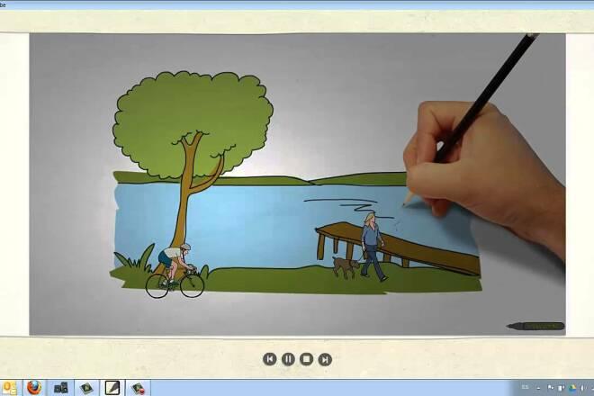 Программа для создания рисованного ДУДЛ видео + Бонус 87 видеоуроков 15 - kwork.ru