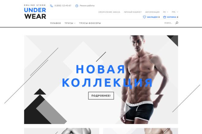 Сделаю интернет-магазин на CMS OpenCart, OcStore под ключ 62 - kwork.ru