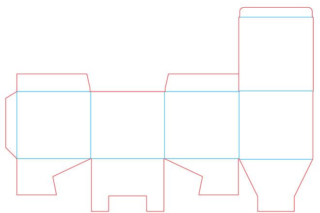 Разработка кроя упаковки из картона или микрогофрокартона 19 - kwork.ru