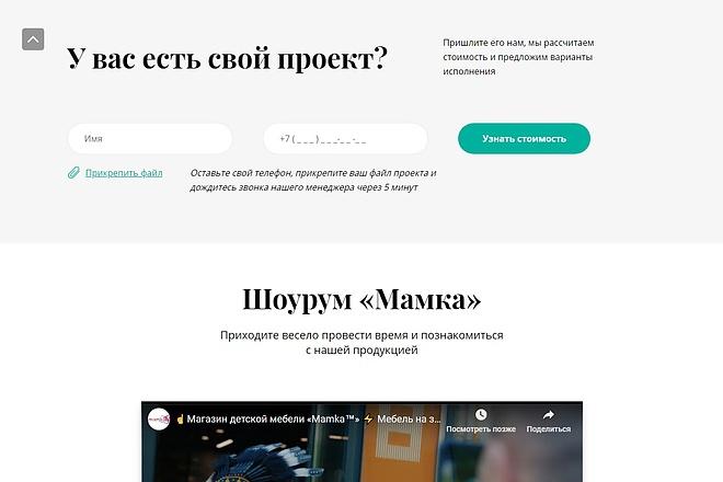 Сайт под ключ. Landing Page. Backend 91 - kwork.ru