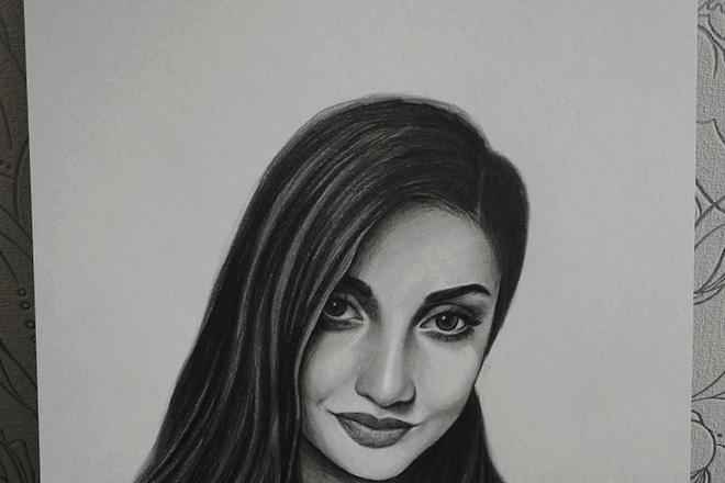 Нарисую портрет по фото карандашом 5 - kwork.ru