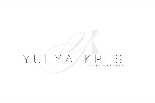 Создам элегантный шрифтовой логотип 167 - kwork.ru