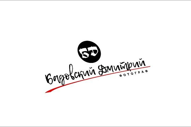 Создам элегантный шрифтовой логотип 162 - kwork.ru