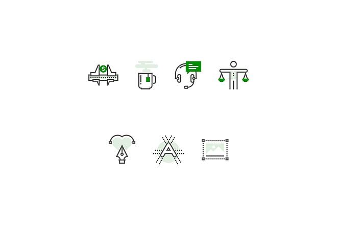 Создам 4 иконки в любом стиле, для лендинга, сайта или приложения 22 - kwork.ru