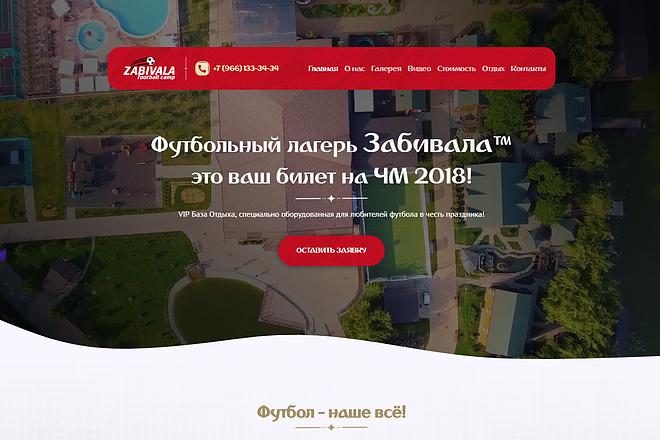 Продающий сайт - Лендинг под ключ, для любых целей 43 - kwork.ru