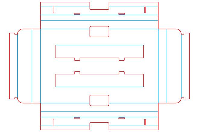 Разработка кроя упаковки из картона или микрогофрокартона 11 - kwork.ru
