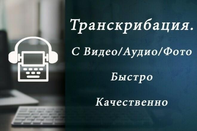 Наберу текст или сделаю транскрибацию аудио, видео в текстНабор текста<br>Имею достаточный опыт в транскрибации, сделаю работу быстро и качественно. Все желанию приму к сведению.<br>
