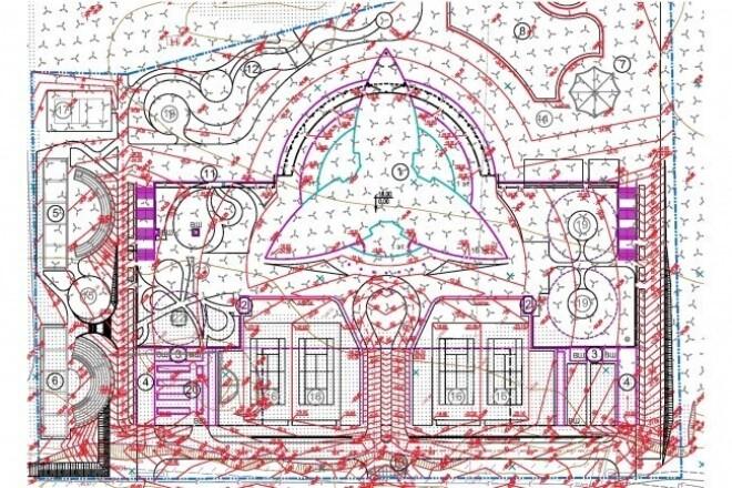 Вертикальная планировка участкаИнжиниринг<br>Выполню вертикальную планировку участка. Определю ноль здания , посажу здание на рельеф, расставлю дождеприемные решетки (ливневую канализацию не проектирую). Картограмма земляных масс только на участки свыше 0,5га. Для плана земляных масс также нужен план организации рельефа, выемка из-под проектируемых покрытий, сетей и здания.<br>