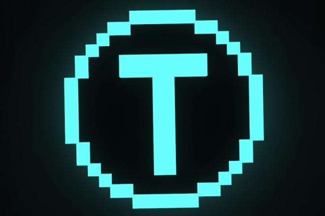 Сделаю пиксельный 3D логотип 1 - kwork.ru
