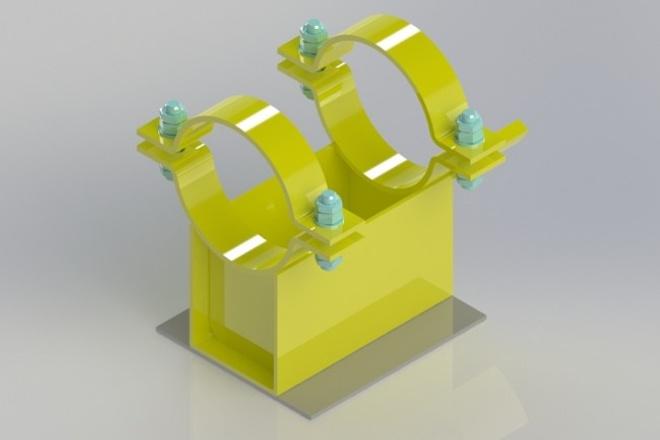 Выполню 3D модель по Вашим эскизам или фотографии 1 - kwork.ru