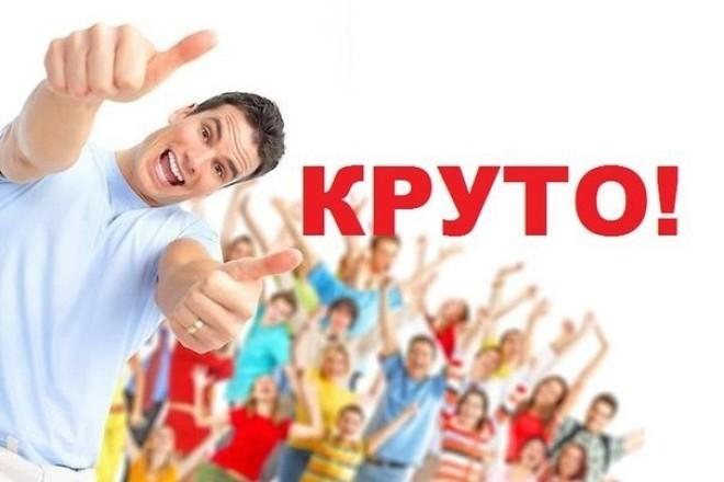 До 13000 Уникальных посещений за 7 дней 1 - kwork.ru