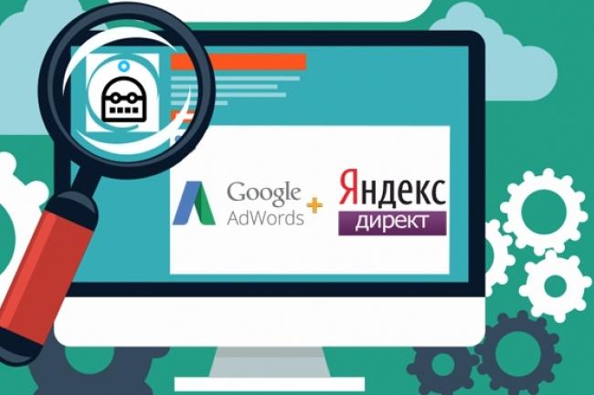 Настройка рекламы в Яндекс Директ 1 - kwork.ru