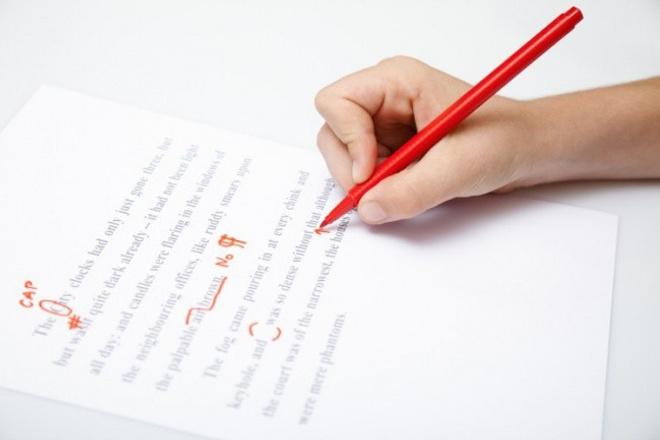 Редактирование текста, проверка на наличие ошибок до 30000 символов 1 - kwork.ru