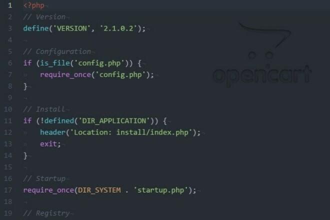 Создам интернет-магазин на OpenCart 2 1 - kwork.ru
