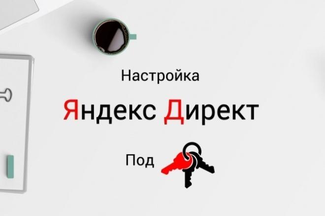Настройка контекстной рекламы в Яндекс Директ 1 - kwork.ru