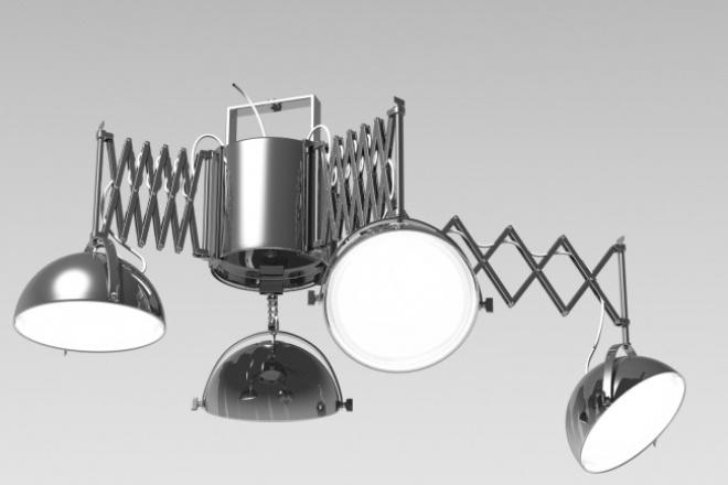 3D моделирование + визуализация 1 - kwork.ru