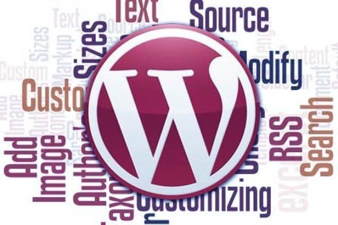 Установка WordPress и полная настройка 1 - kwork.ru