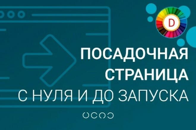 Создам Landing Page с нуля и до запуска 1 - kwork.ru