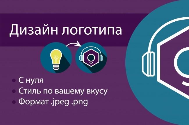 Уникальный логотип с нуля 1 - kwork.ru