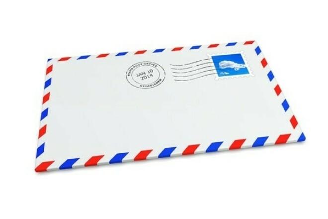 Дизайн конвертов 1 - kwork.ru