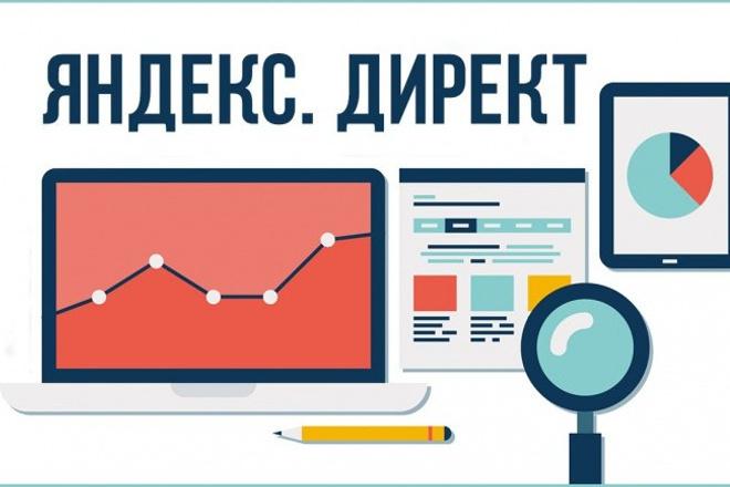 Создание кампании в Директе под ключ+ведение 1 - kwork.ru