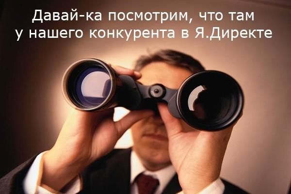Выгрузка ключевых фраз и текстов объявлений конкурента в Я.Директе 1 - kwork.ru