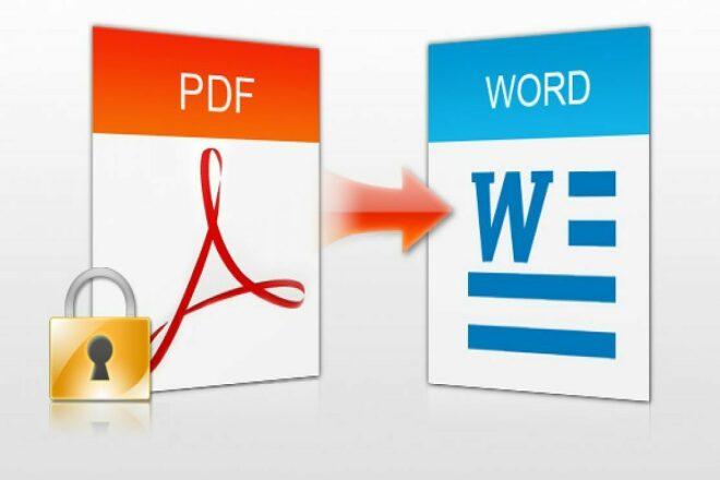 Извлечение текста PDF, JPG-формата в Word и его редактирование 38 - kwork.ru