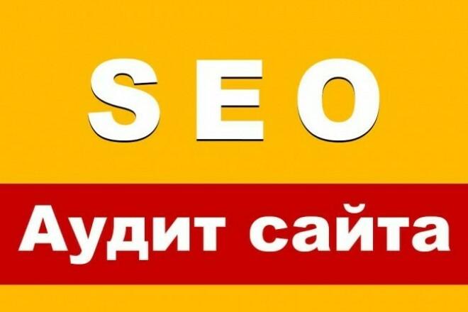 Аудит сайта 1 - kwork.ru