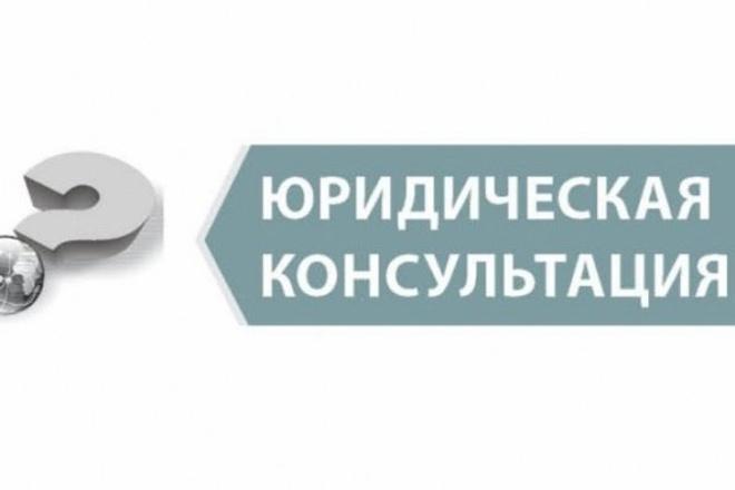 Дам юридическую консультацию 1 - kwork.ru