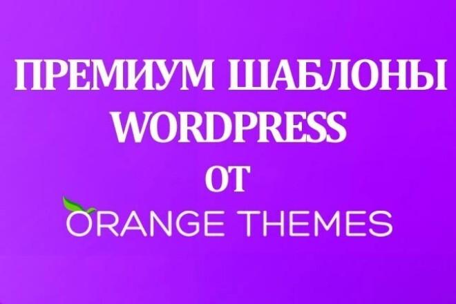 Премиум Шаблоны WordPress от Orange Themes 1 - kwork.ru