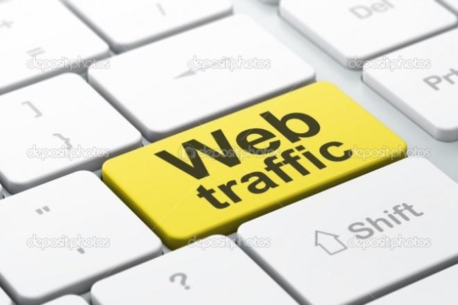 Накручу уникальный трафик на ваш сайт 1 - kwork.ru