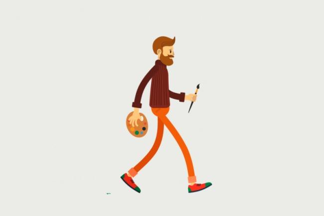 Сделаю стильное векторное интро, анимацию логотипа 1 - kwork.ru