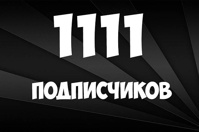 1100 подписчиков в группу ВК, от опытного SMM мастера. Безопасно 1 - kwork.ru