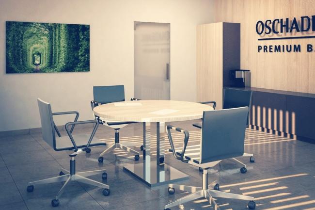 3D- создание и визуализация интерьераМебель и дизайн интерьера<br>Качественно выполню 3D визуализацию интерьера. Цена за финальный рендер 2 проекций помещения (два ракурса).<br>