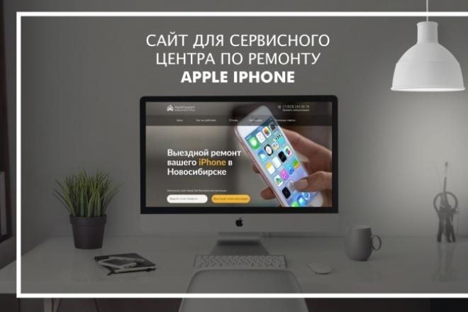 Разработаю Landing Page под ключ 1 - kwork.ru