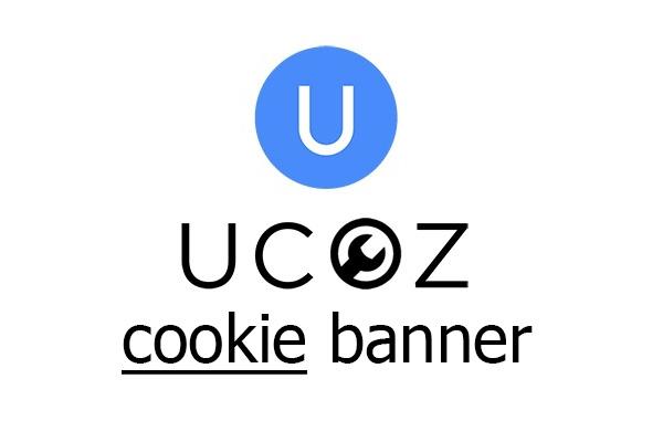 Установка баннера согласия на использование файлов cookie для UCOZ 1 - kwork.ru