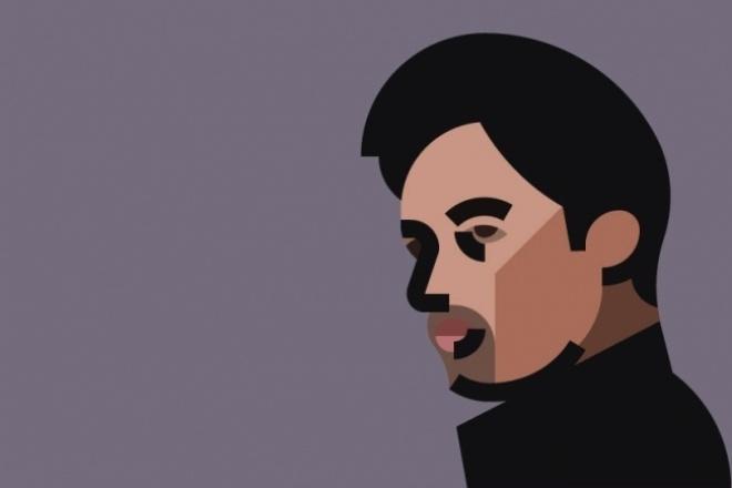 Современный портрет 1 - kwork.ru
