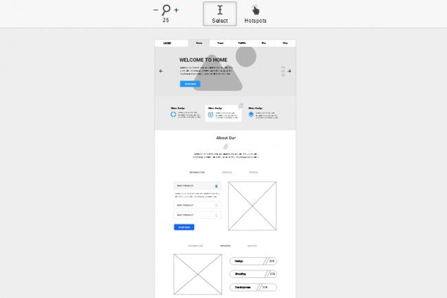 Сделаю продающий макет прототип для лендинга (сайта) 2 - kwork.ru