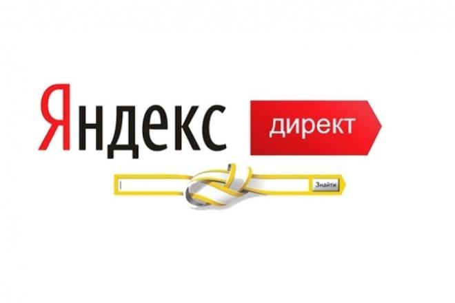 Настройка контекстной рекламы Яндекс Директ поиск+рся 1 - kwork.ru