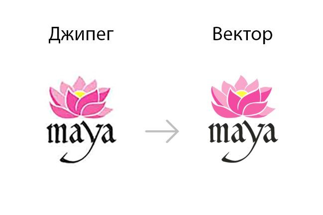 сделаю ваш логотип векторным 1 - kwork.ru