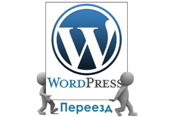 Перенесу Ваш сайт Wordpress с хостинга на хостинг 1 - kwork.ru