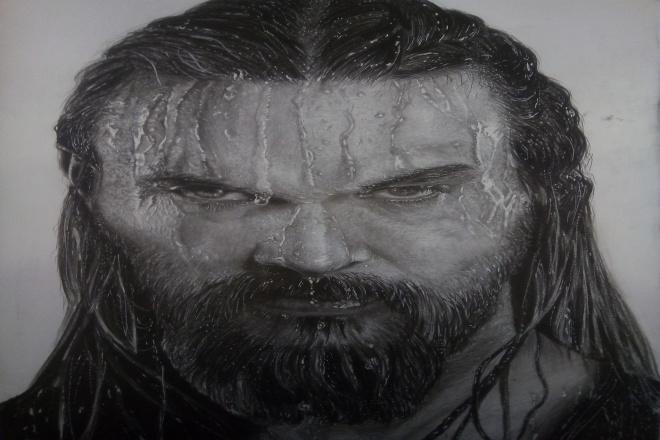 Напишу портрет карандашом 1 - kwork.ru