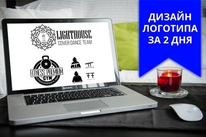 Создам профессиональный логотип для вашей компании за 2 дня 1 - kwork.ru