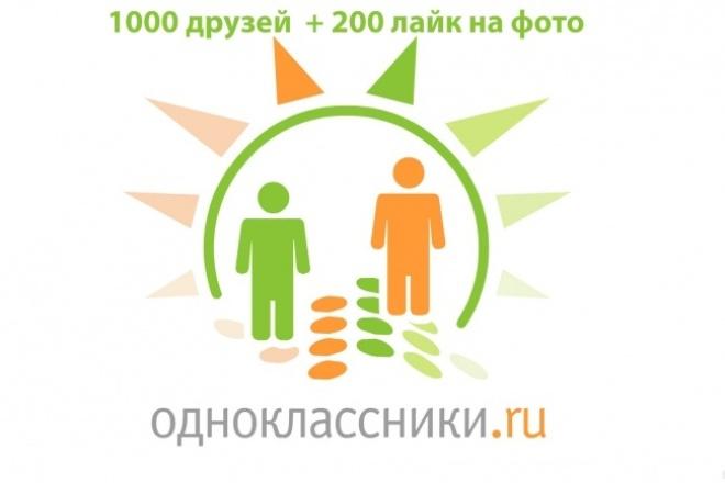 Накрутка друзей в Одноклассники 1 - kwork.ru