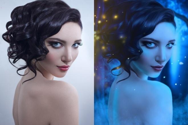 Сделаю из Вашего фото волшебный портрет 1 - kwork.ru