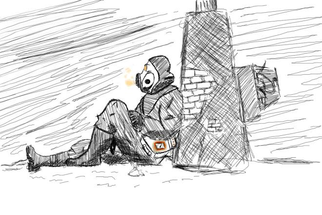 Нарисую скетч, раскадровку 1 - kwork.ru