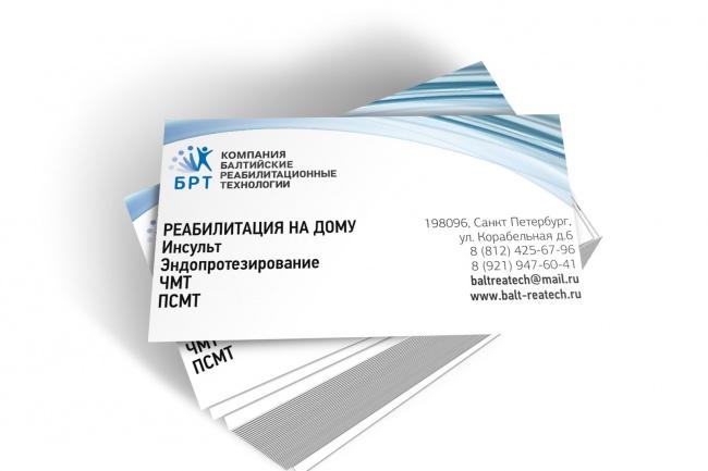 визитку 1 - kwork.ru