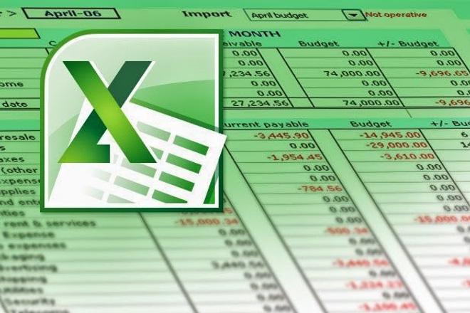 Сделаю любую работу с таблицами ExcelПерсональный помощник<br>Любая работа с таблицами Excel. Могу как доработать, поправить существующие документы, так и создать с нуля. Любые расчёты, вычисления, перенос данных между страницами, слияние нескольких таблиц в одну.<br>