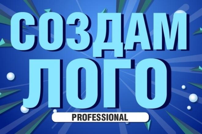 Создам идеальный лого + доработка 1 - kwork.ru